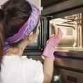 Наведение чистоты в микроволновке