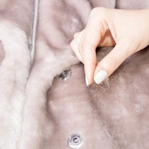 Очищение меха шубы