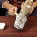 Убираем грязь с замшевых туфель