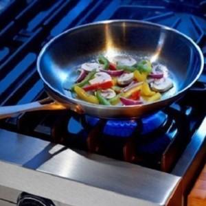 Сковородка на газу
